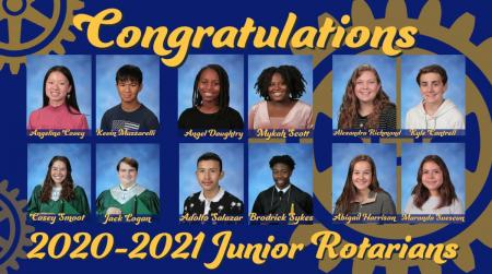 Humble ISD Junior Rotarians Announced for 2020-2021