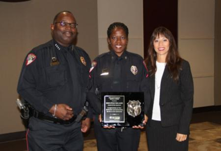 Humble ISD Officer Receives Award